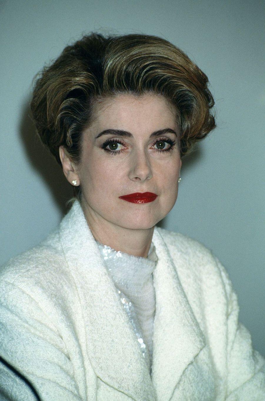 Catherine Deneuve en 1991