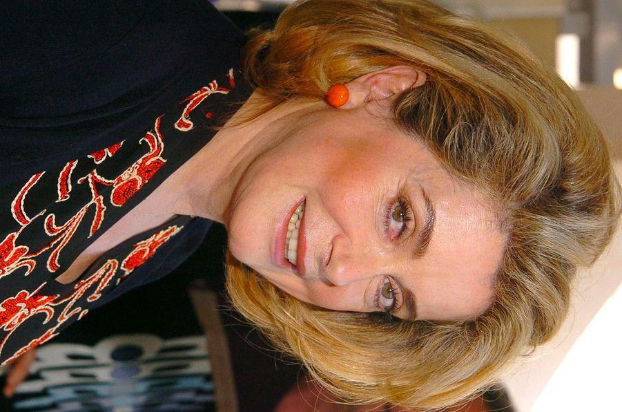 Catherine Deneuve en 2004