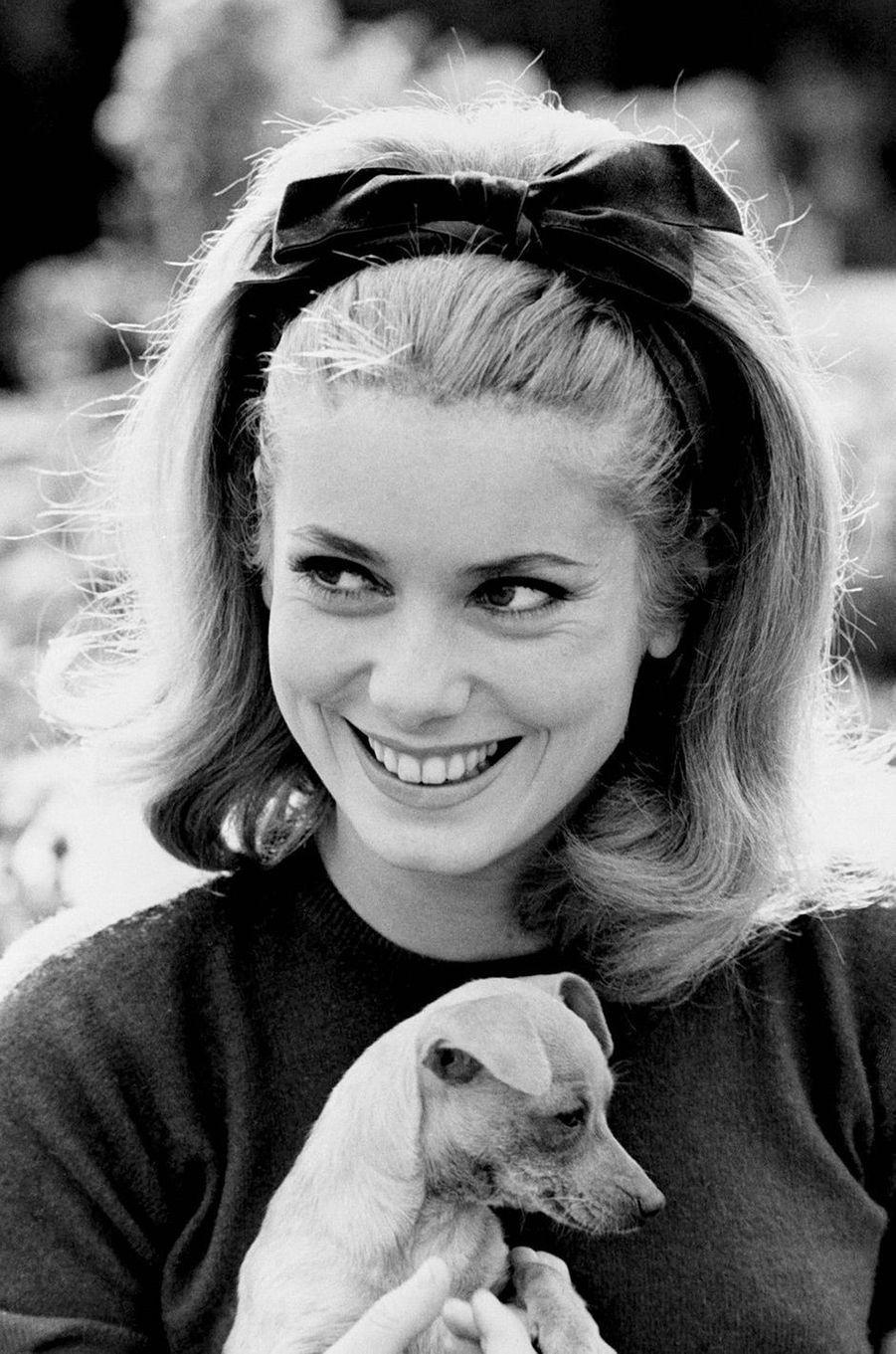 Catherine Deneuve en 1962