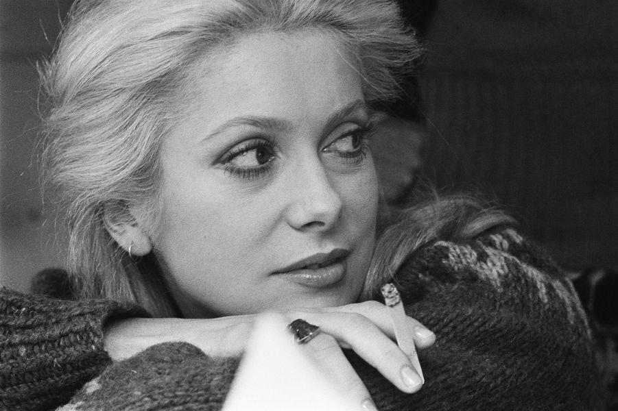 Catherine Deneuve en 1975