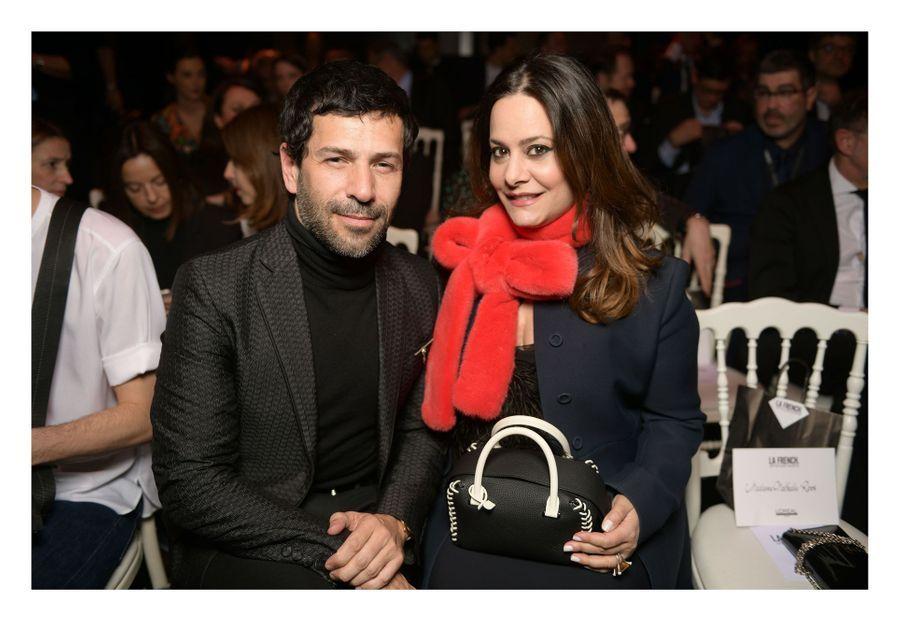Alexis Mabille et Hedieh RoubierauCarrousel du Louvre, le 24 mars 2019