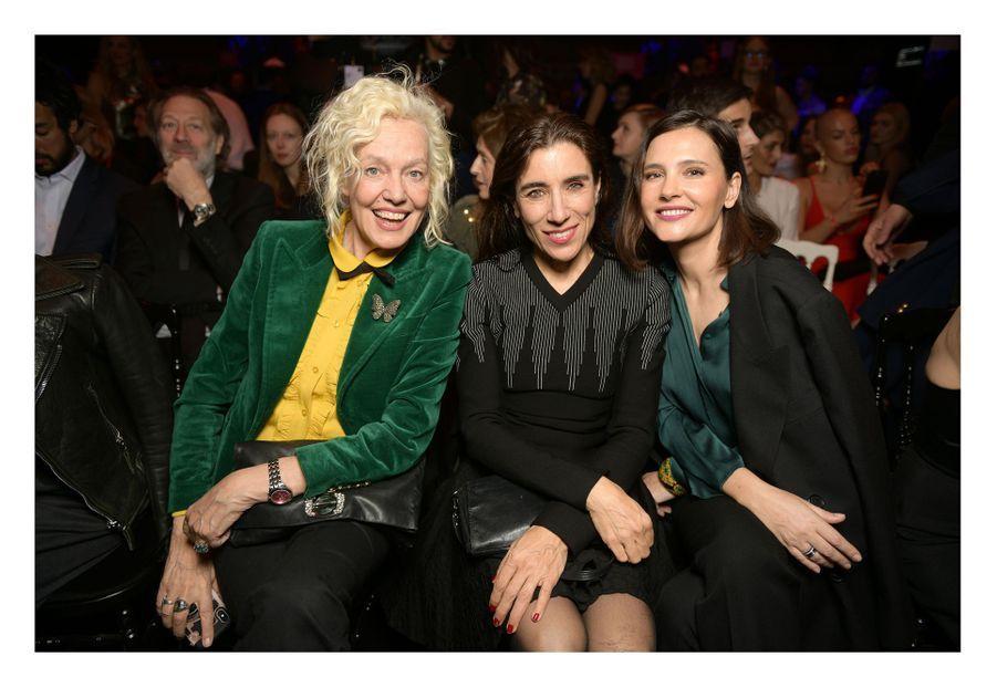 Ellen Von Unwert, Blanca Li et Virginie Ledoyenau Carrousel du Louvre, le 24 mars 2019
