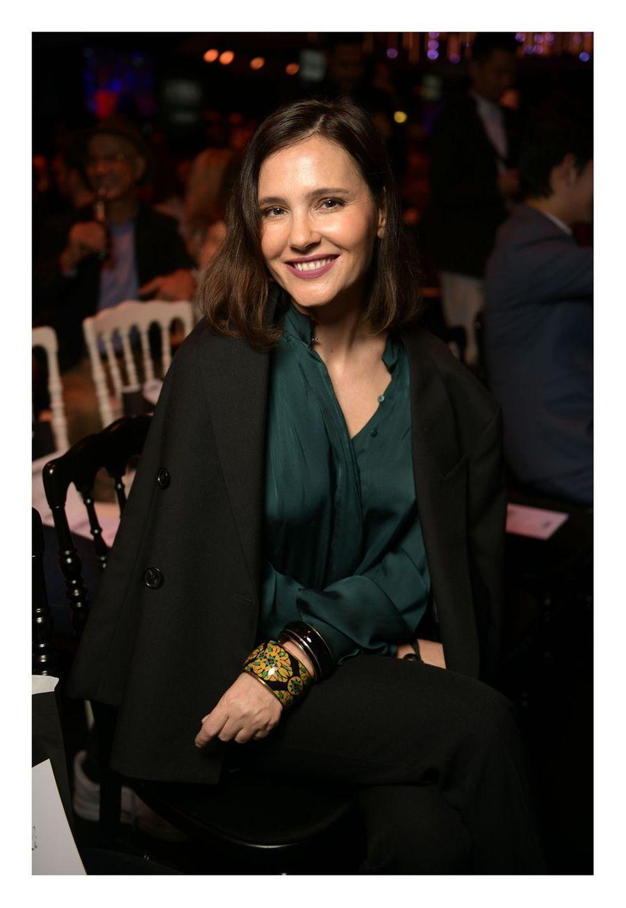 Virginie Ledoyen au Carrousel du Louvre, le 24 mars 2019