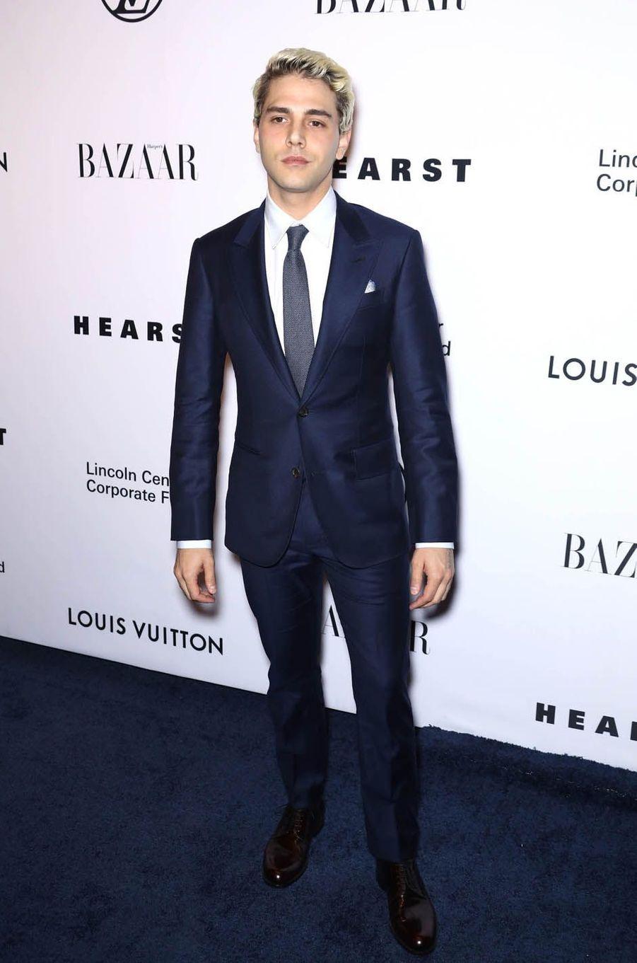 Xavier Dolanau gala de la fondation du Lincoln Center, le 30 novembre 2017 à New York.