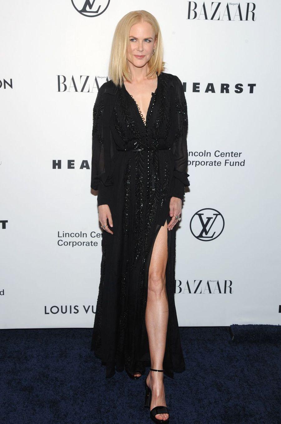 Nicole Kidmanau gala de la fondation du Lincoln Center, le 30 novembre 2017 à New York.