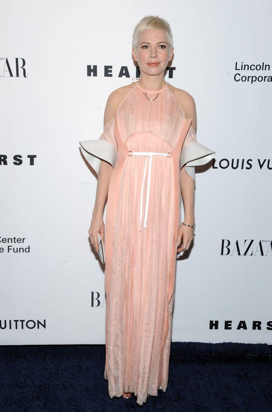Michelle Williamsau gala de la fondation du Lincoln Center, le 30 novembre 2017 à New York.
