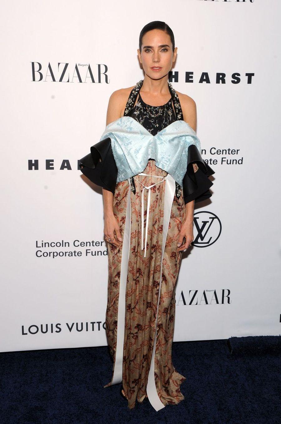 Jennifer Connellyau gala de la fondation du Lincoln Center, le 30 novembre 2017 à New York.