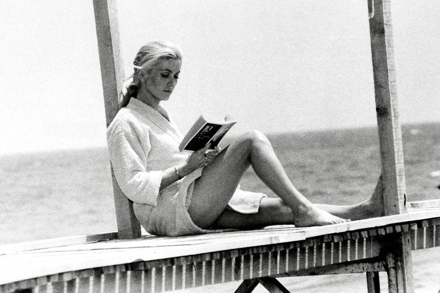 Catherine Deneuve en 1968.