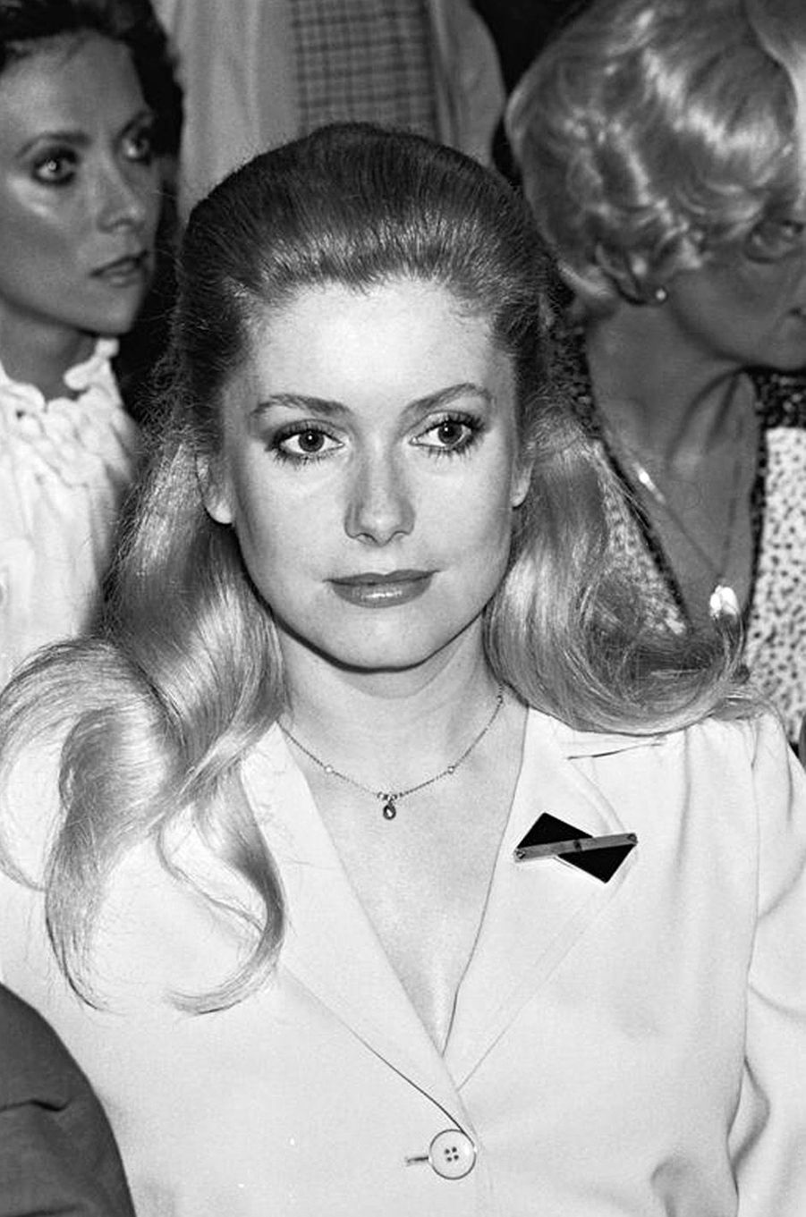 Catherine Deneuve en 1977.