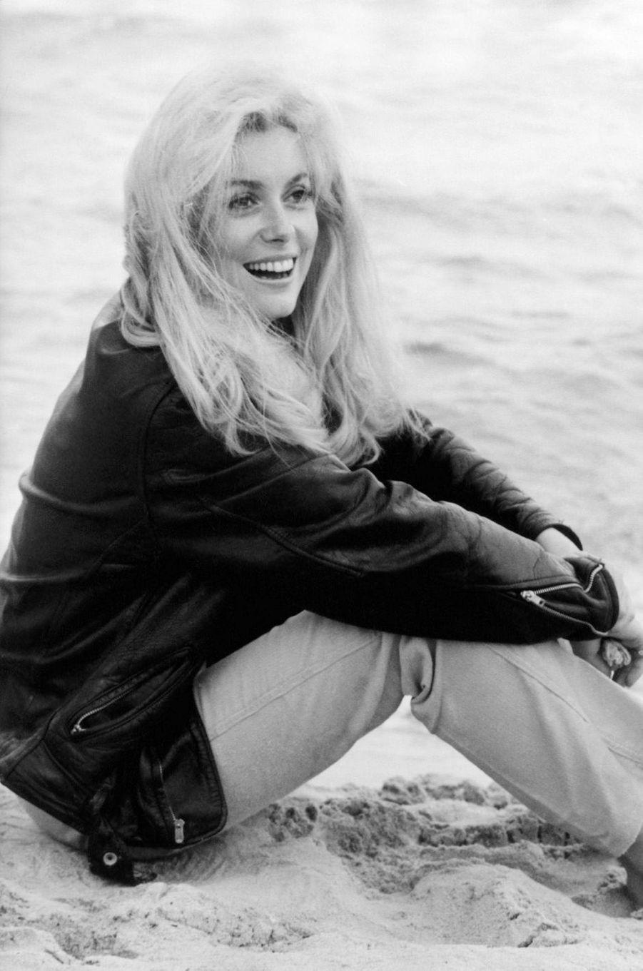 Catherine Deneuve dans les années 60.