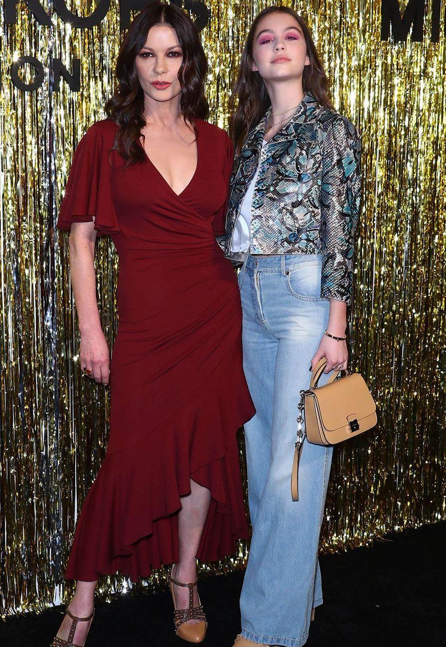 Catherine Zeta-Jones et sa fille Carys