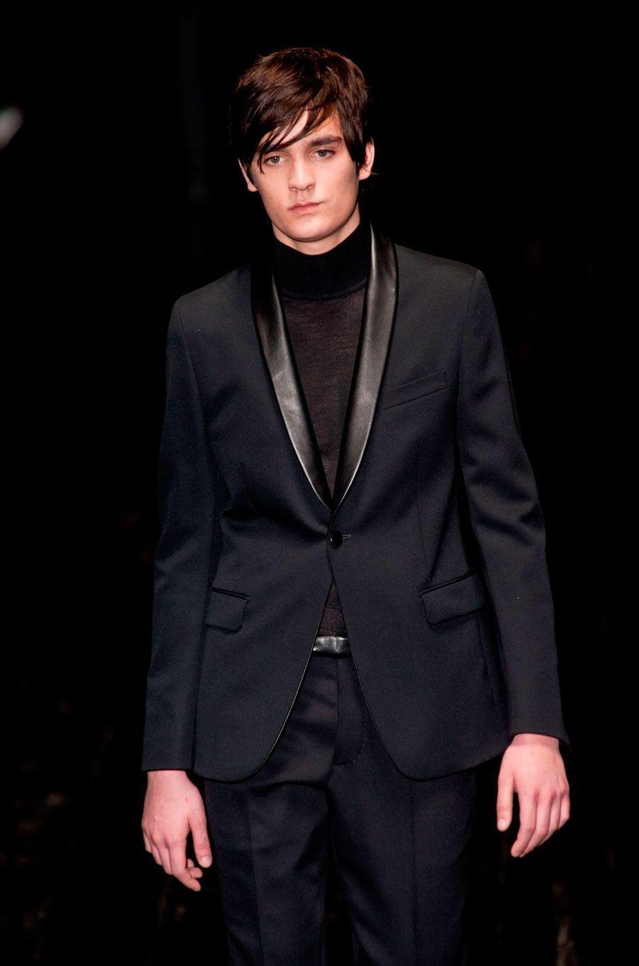Alain-Fabien Delon défile pour Gucci