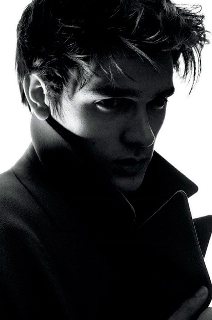 Alain-Fabien Delon est l'un des visages de Dior