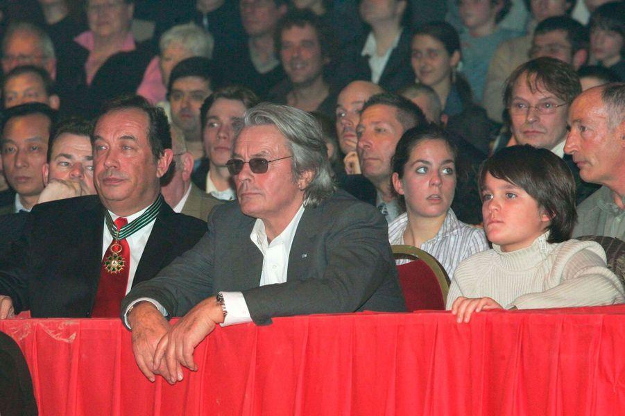 Alain-Fabien Delon au cirque avec son père