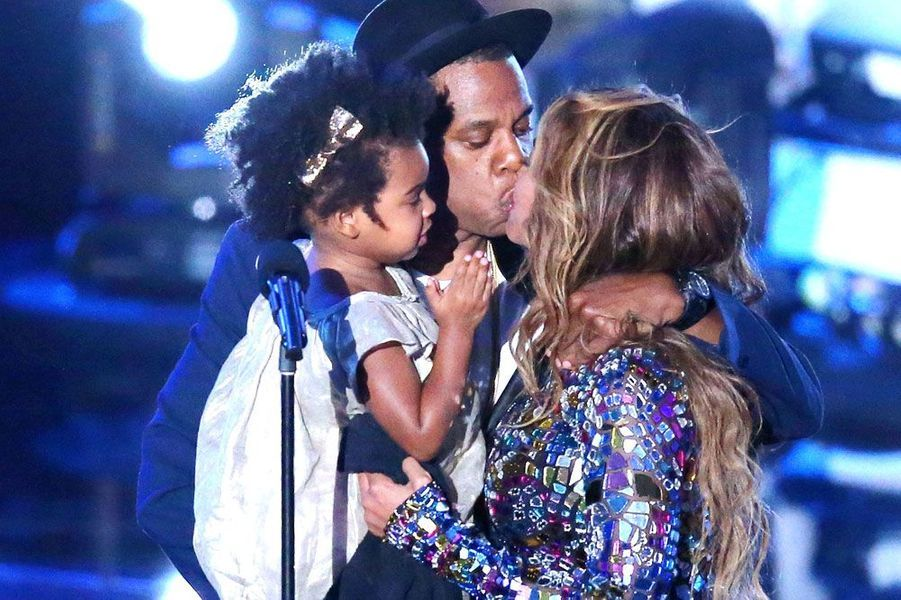 Beyoncé, Jay-Z et Blue Ivy aux MTV Music Video Awards