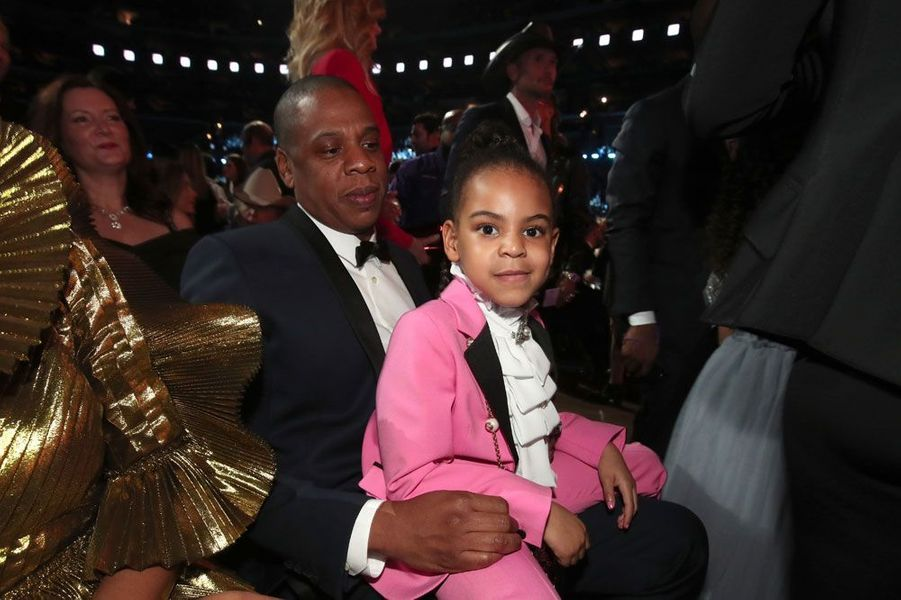 Beyoncé, Jay-Z et Blue Ivy aux Grammy Awards