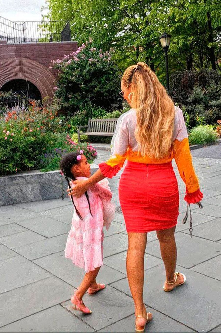 Beyoncé et Blue Ivy