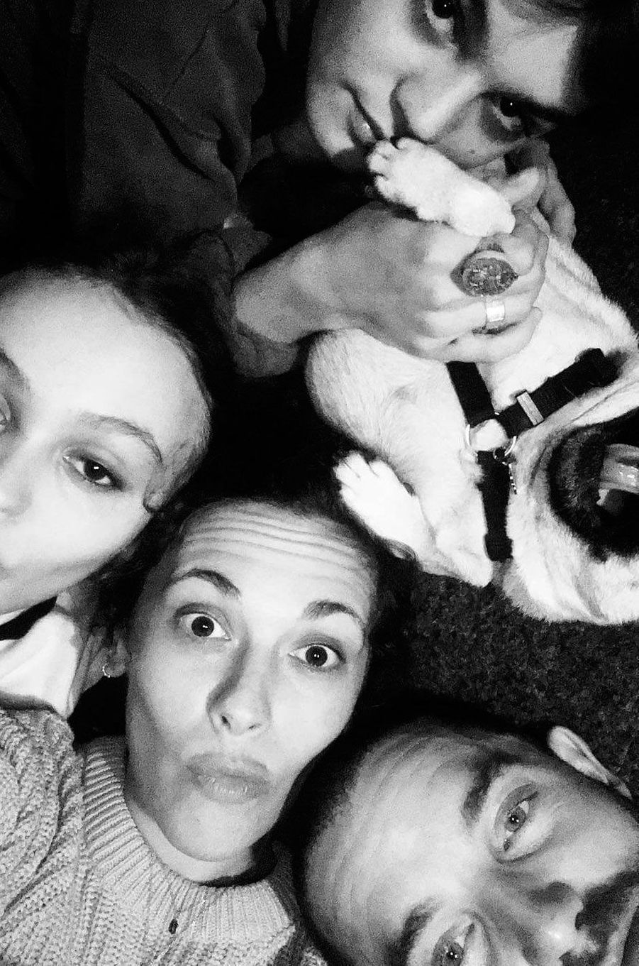 Lily-Rose Depp, Alison Paradis et Jack Depp