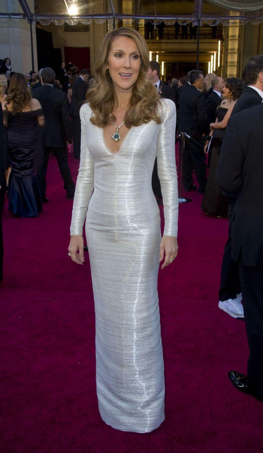 Céline Dion à Los Angeles, le 27 février 2011