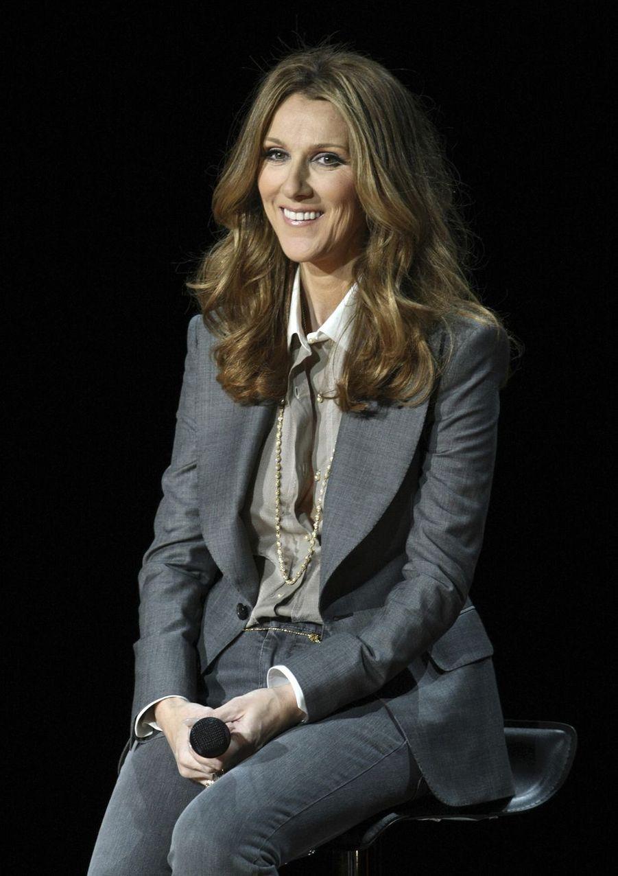 Céline Dion à Las Vegas, le 15 mars 2011