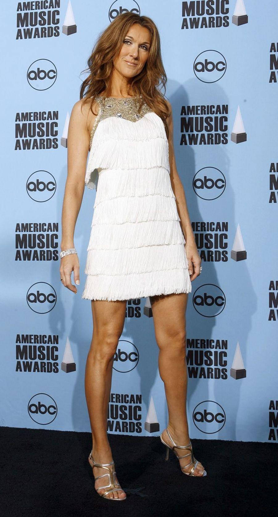 Céline Dion à Los Angeles, le 18 novembre 2007