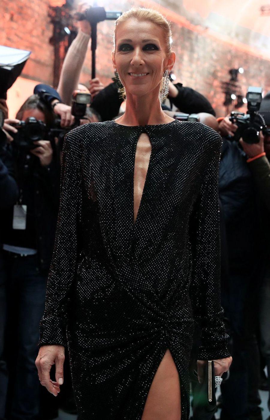 Céline Dion à Paris, le 22 janvier 2019