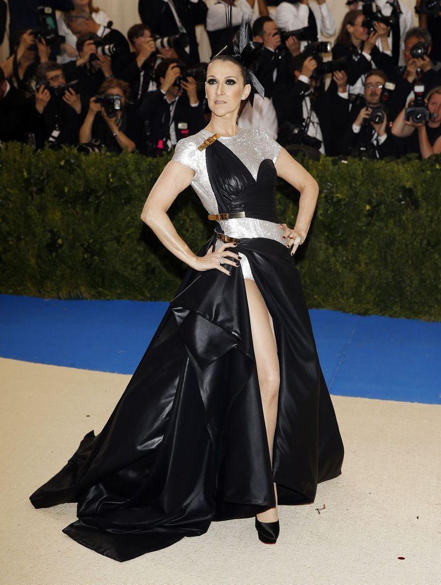Céline Dion à New York, le 1er mai 2017