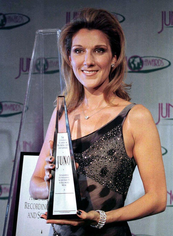 Céline Dion à Hamilton (Canada), le 9 mars 1997