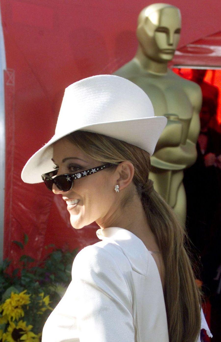 Céline Dion à Los Angeles, le 21 mars 1999