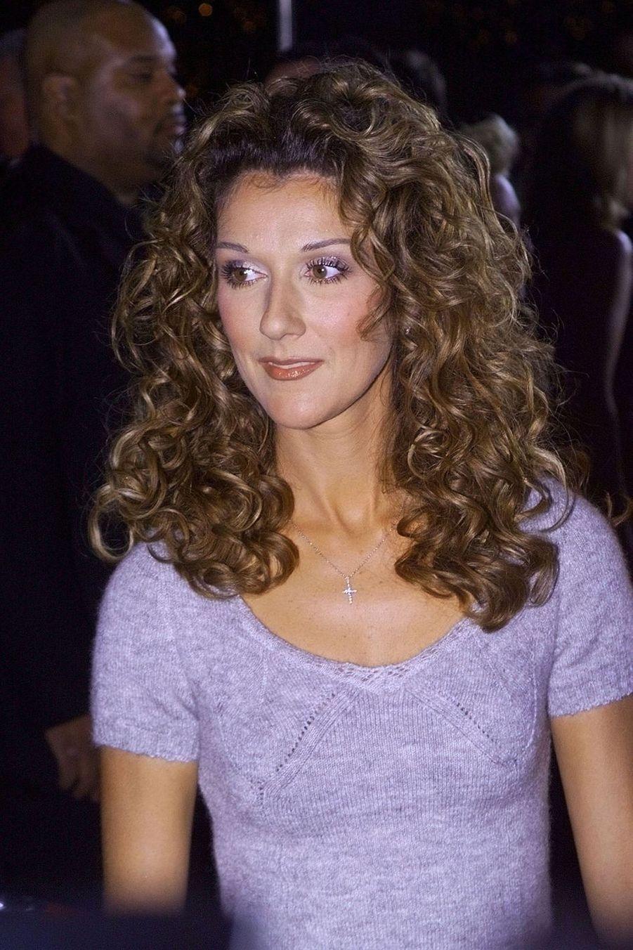 Céline Dion à Pasadena, le 10 janvier 1999