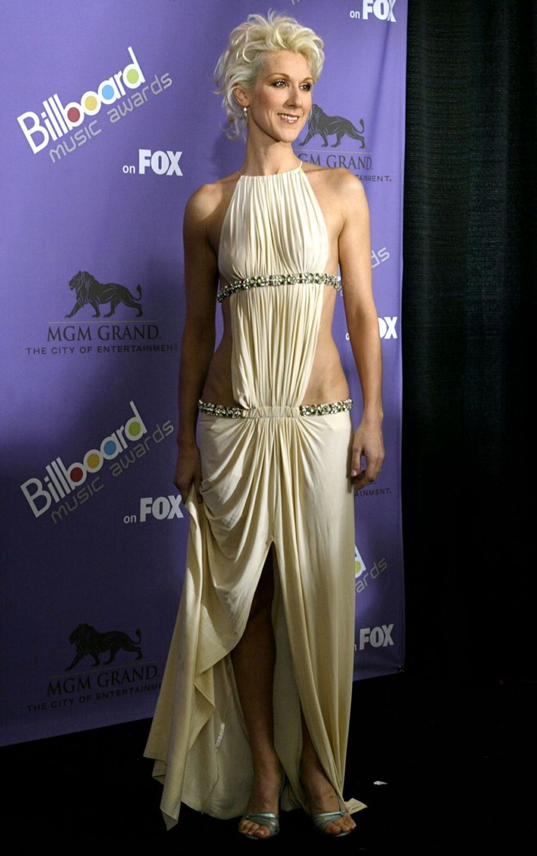 Céline Dion à Las Vegas, le 10 décembre 2003