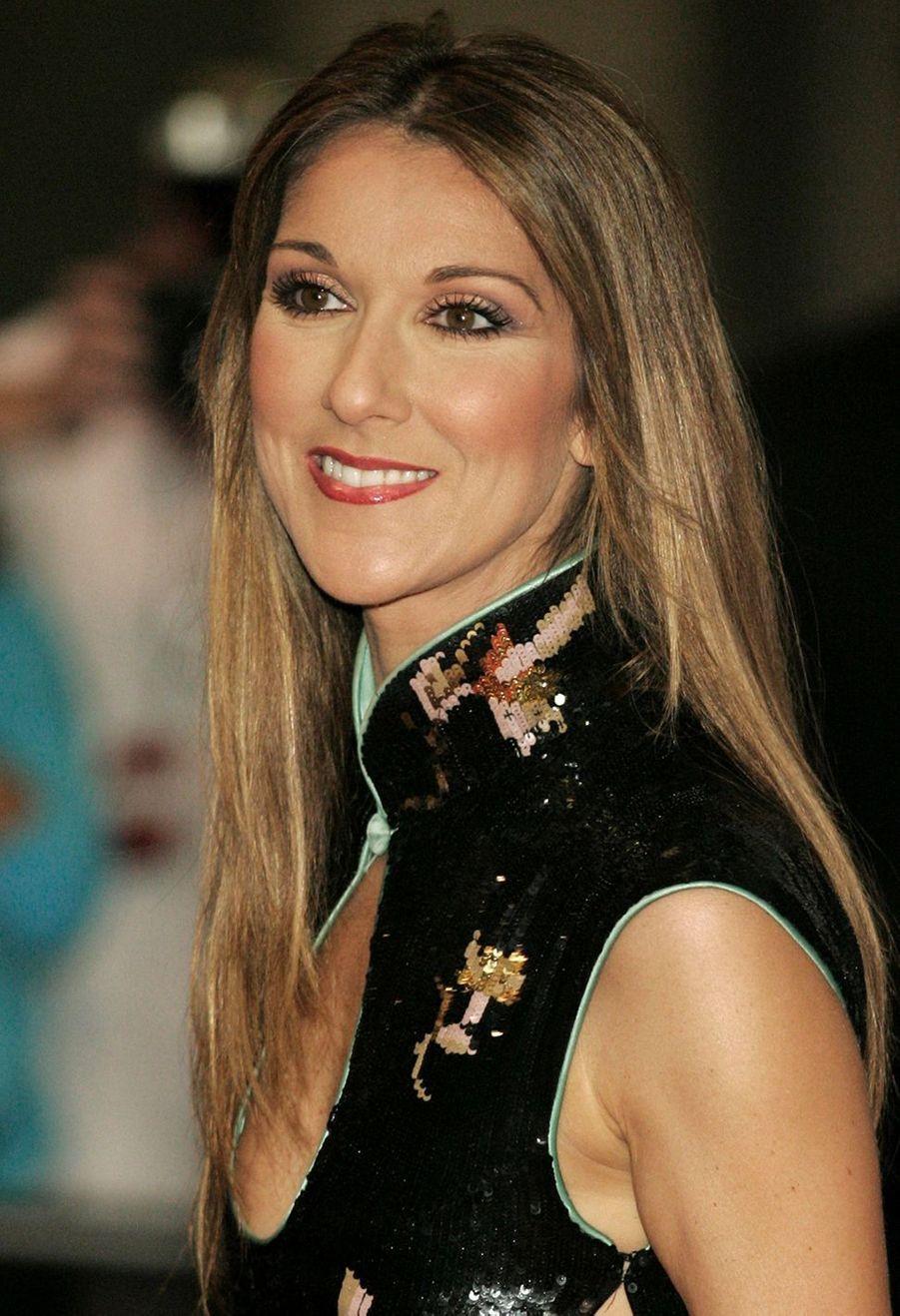 Céline Dion à Las Vegas, le 15 septembre 2004