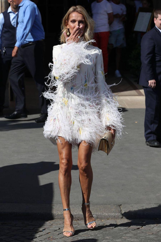 Céline Dion au défilé Valentino à Paris, le 3 juillet 2019.