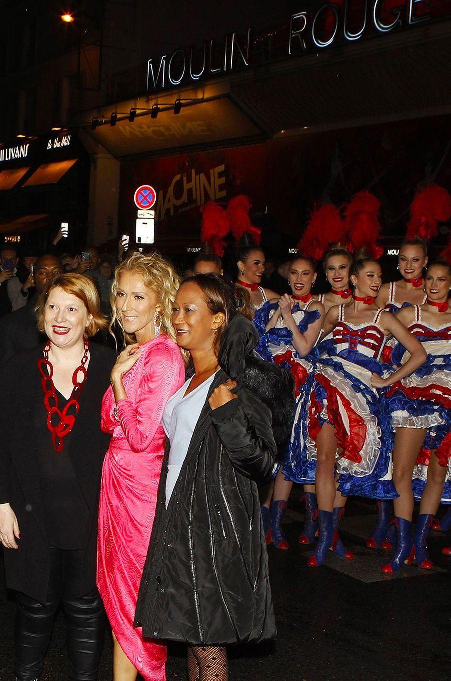 Céline Dion au Moulin Rouge, jeudi 24 janvier