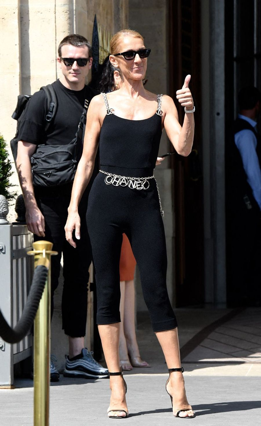 Céline Dion à Paris le 27 juin 2019.