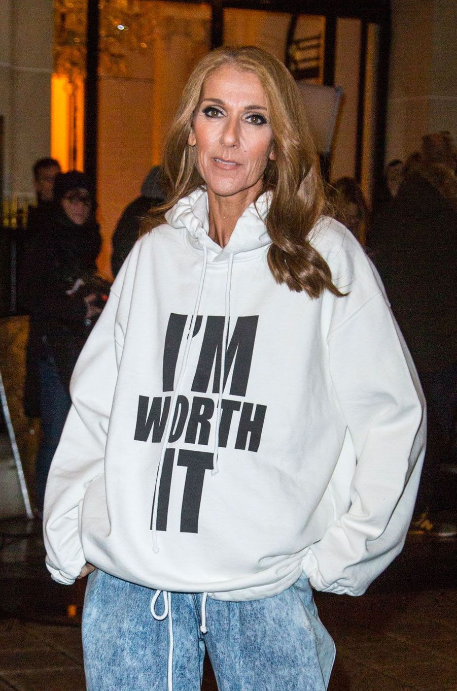 Céline Dion à Paris