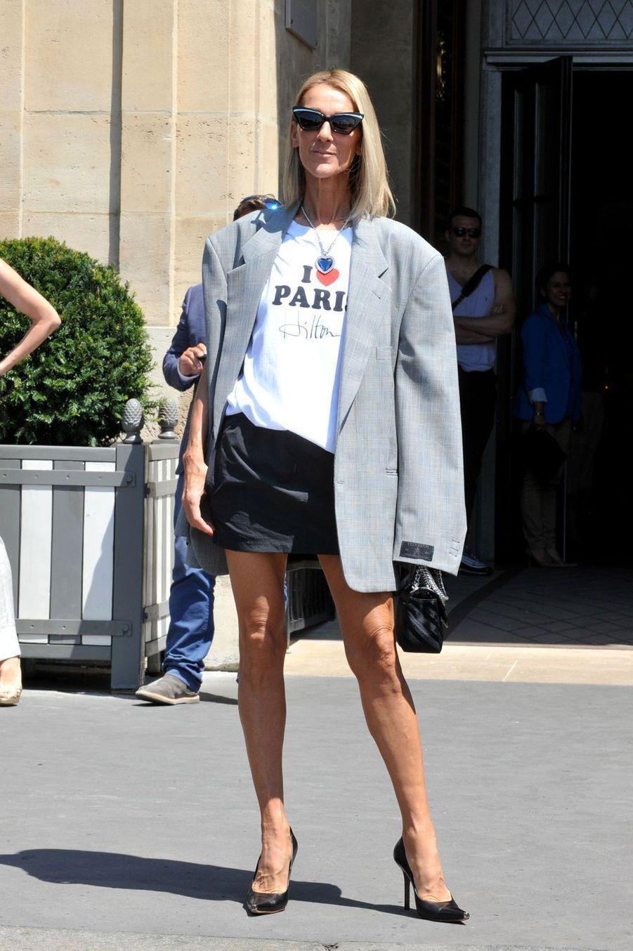 Céline Dion à Paris, le 3 juillet 2019