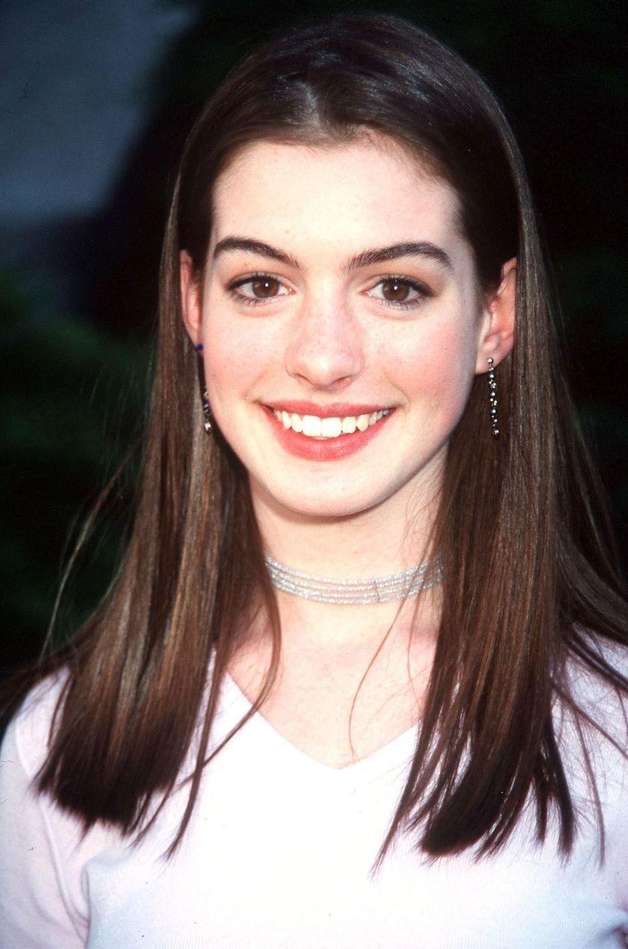Anne Hathaway en 1999.