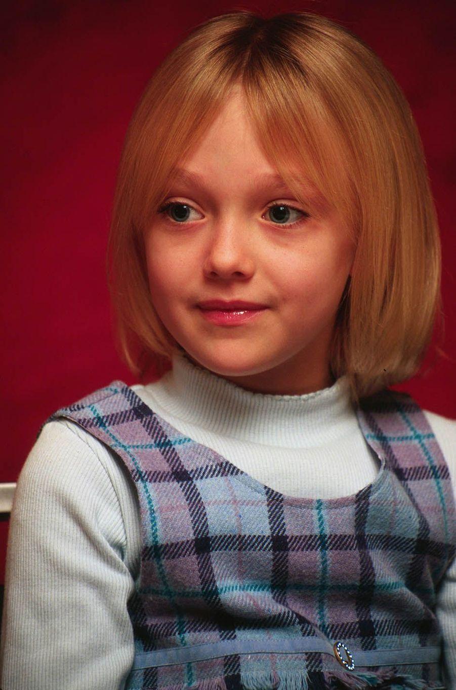 Dakota Fanning en 2001.
