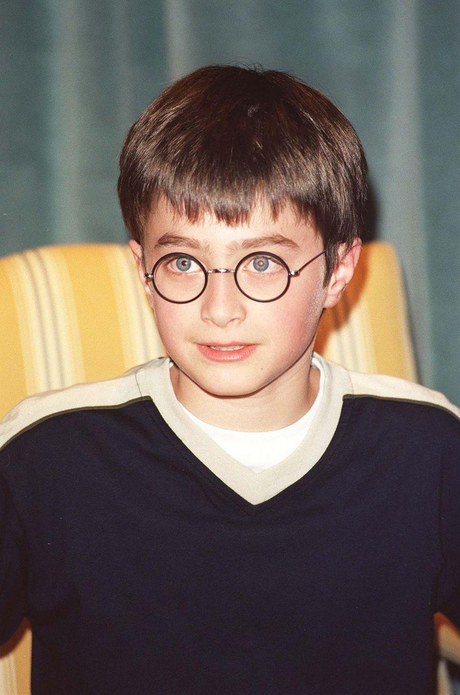 Daniel Radcliffe en 2000.