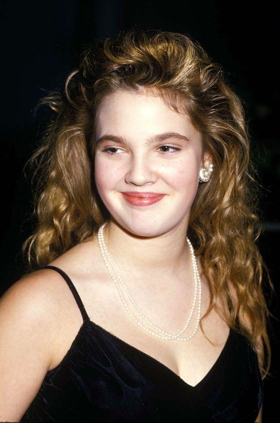 Drew Barrymore en 1987.