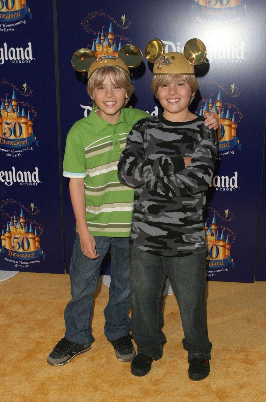 Cole et Dylan Sprouse en 2005.