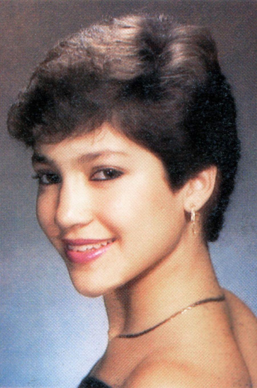 Jennifer Lopez en 1987.
