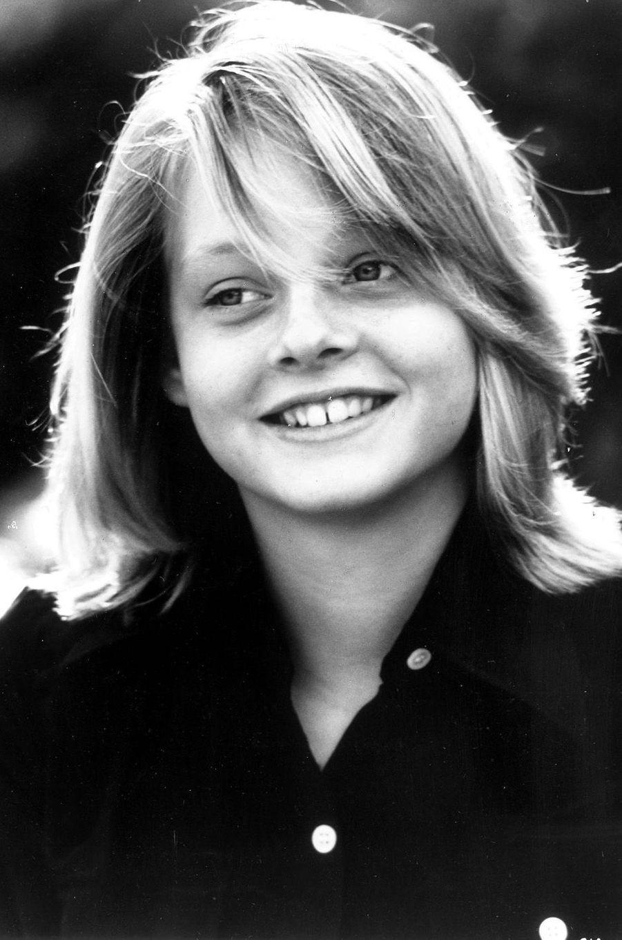 Jodie Foster en 1977.