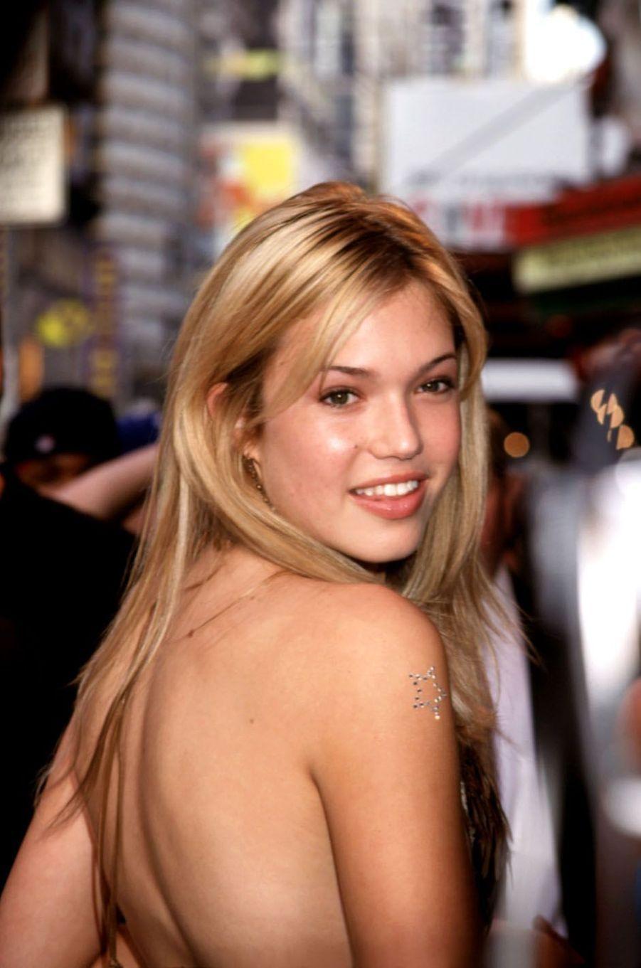 Mandy Moore en 2000.