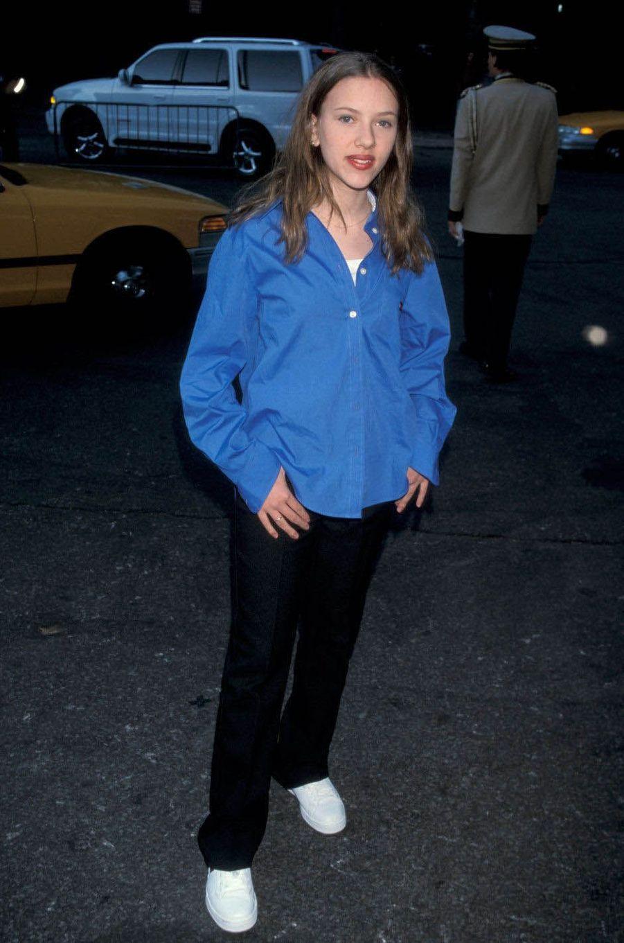 Scarlett Johansson à l'âge de 14 ans.