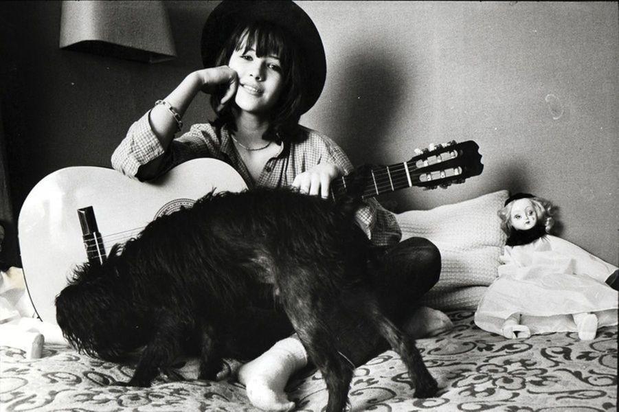 Sophie Marceau à l'âge de 14 ans.