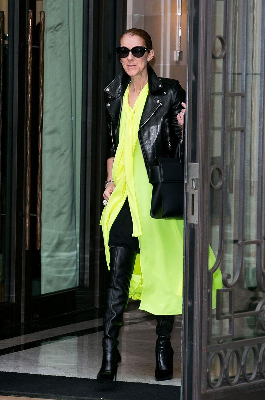 Céline Dion, à Paris le 28 juin 2016
