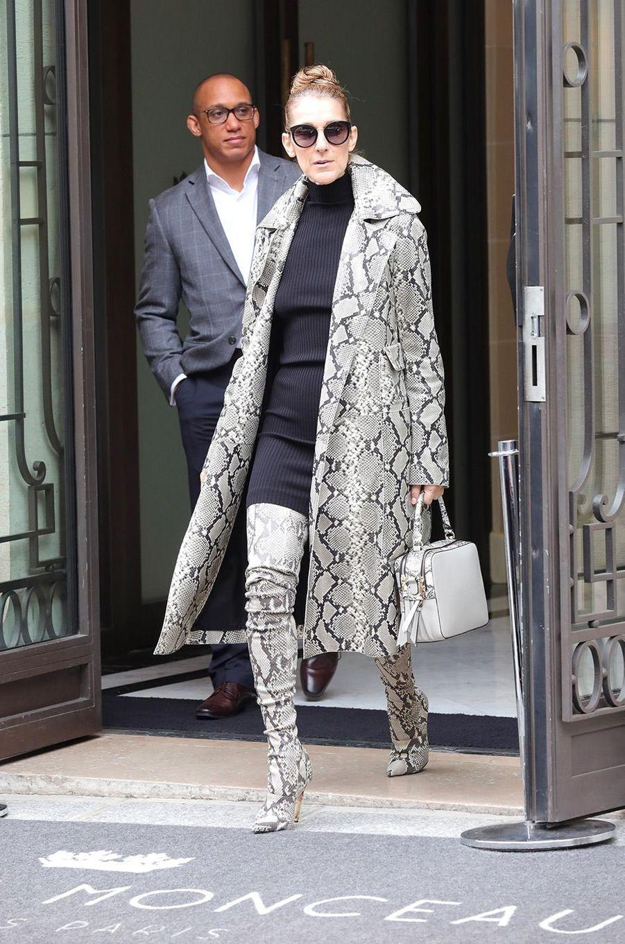 Céline Dion, à Paris le 27 juillet 2017