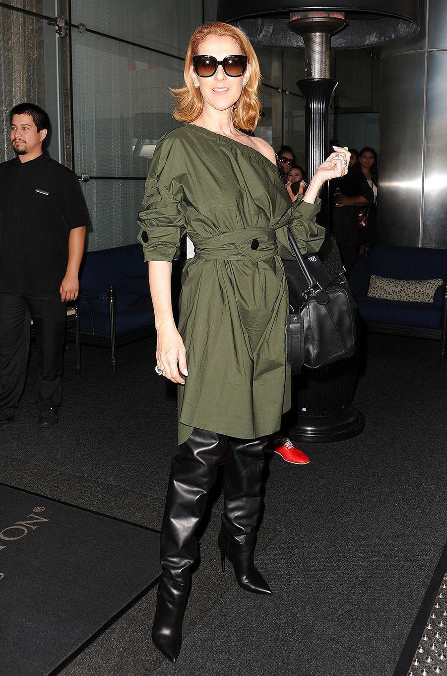 Céline Dion, à Los Angeles le 9 septembre 2016